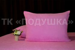 Купить розовые махровые наволочки на молнии в Кемерово