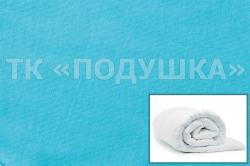 Купить голубой трикотажный пододеяльник в Кемерово