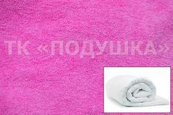 Купить розовый махровый пододеяльник  ТМ Подушка в Кемерово